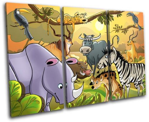African Animals For Kids Room - 13-2130(00B)-TR32-LO